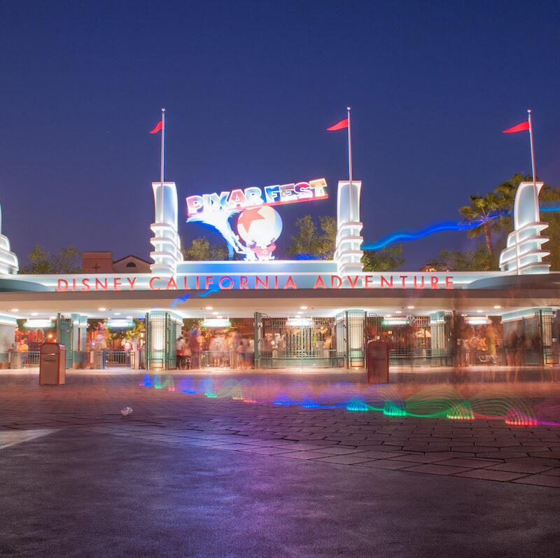 Disneyland in Anaheim, California.
