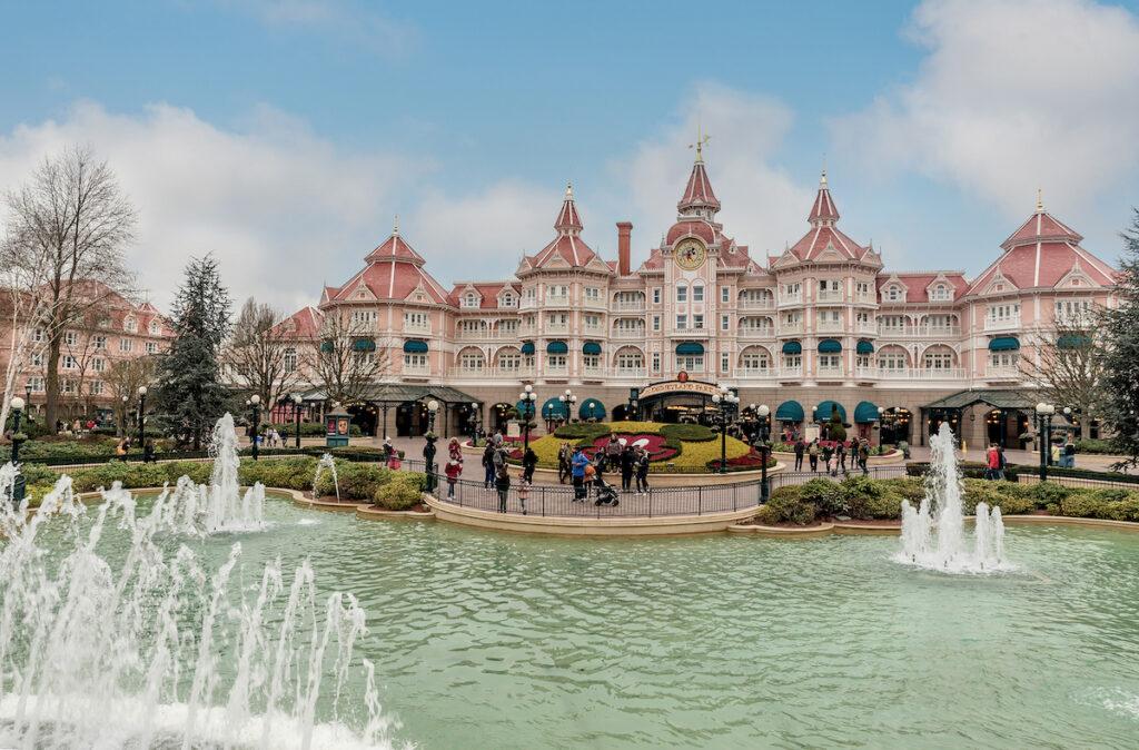 Disneyland Paris in France.