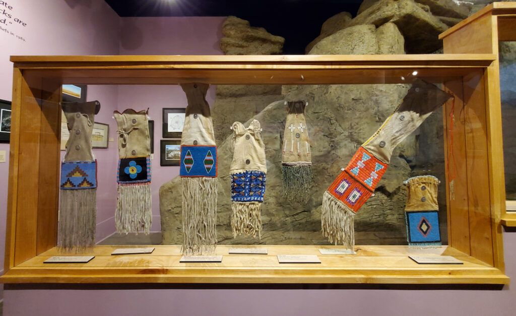 Display at the Montana Historical Society Museum.