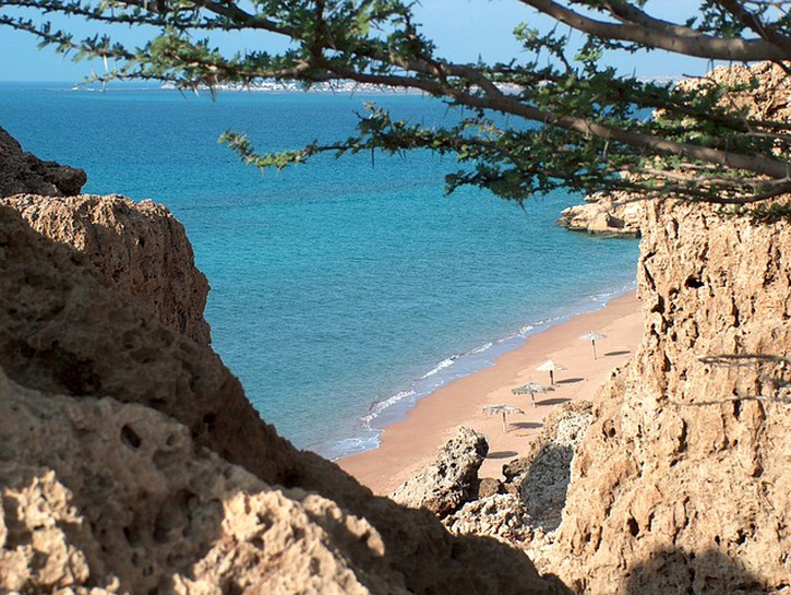 Djibouti beach