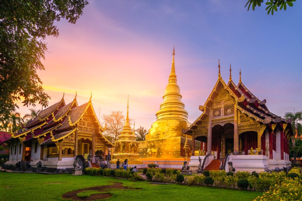 Doi Suthep in Thailand.