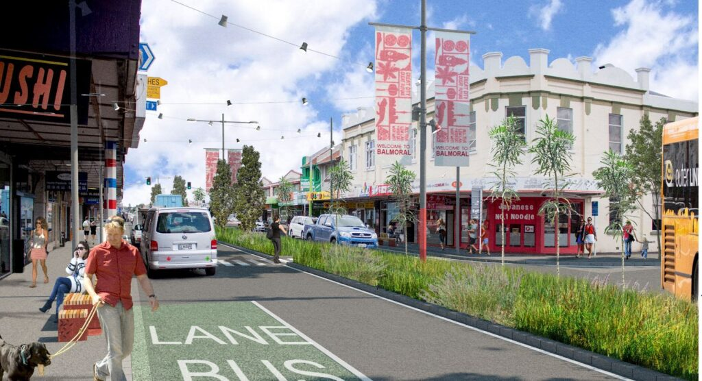 Dominion Road in Auckland, New Zealand.