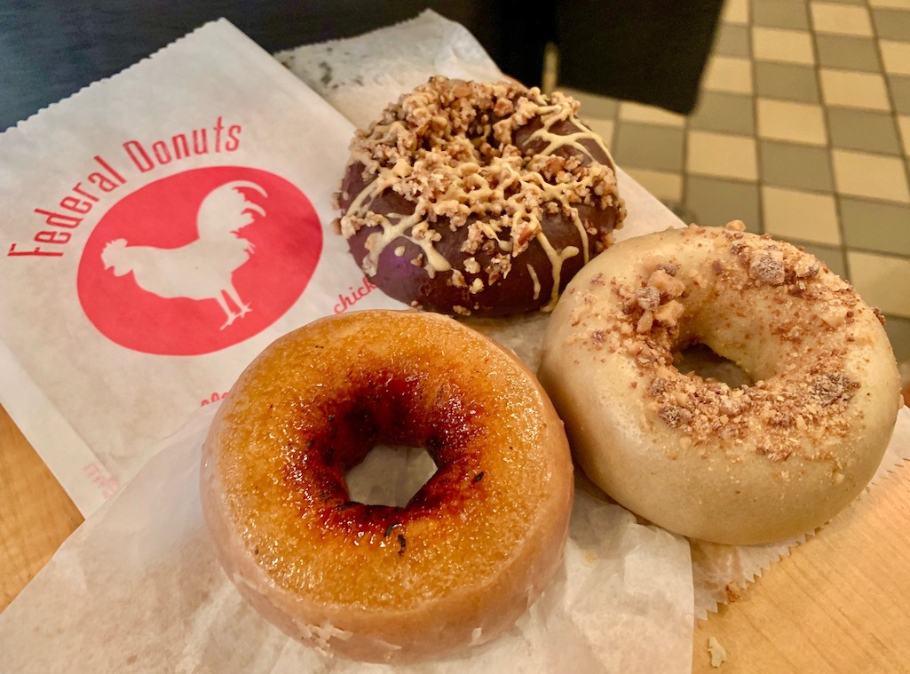 Donuts from Federal Donuts in Philadelphia.