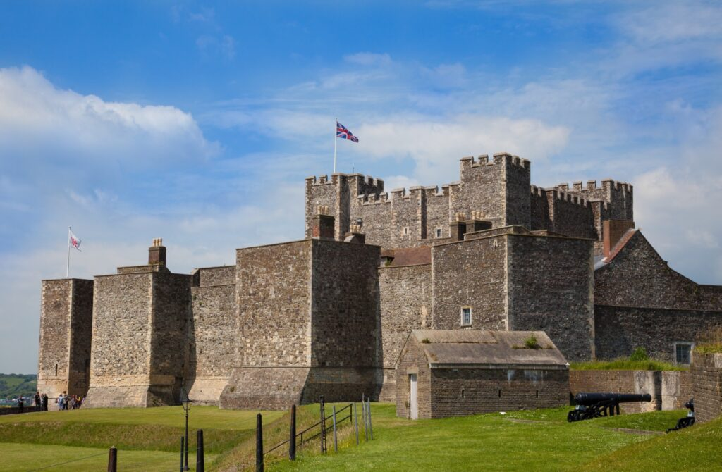 Dover Castle in England.