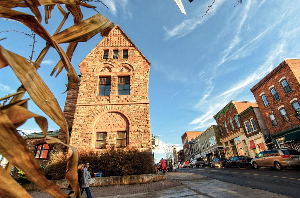 Downtown Almonte, Canada.
