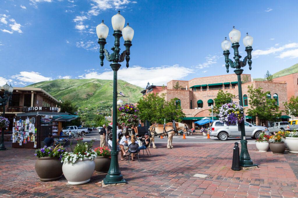 Downtown Aspe, Colorado.