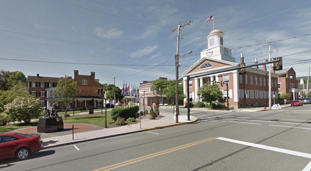Downtown Bedford, Pennsylvania.