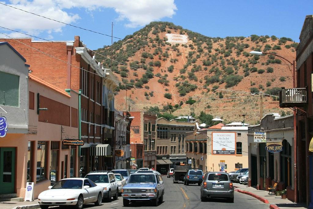 Downtown Bisbee, Arizona
