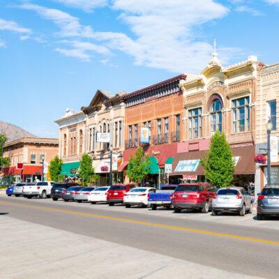 Downtown Canon City, Colorado.