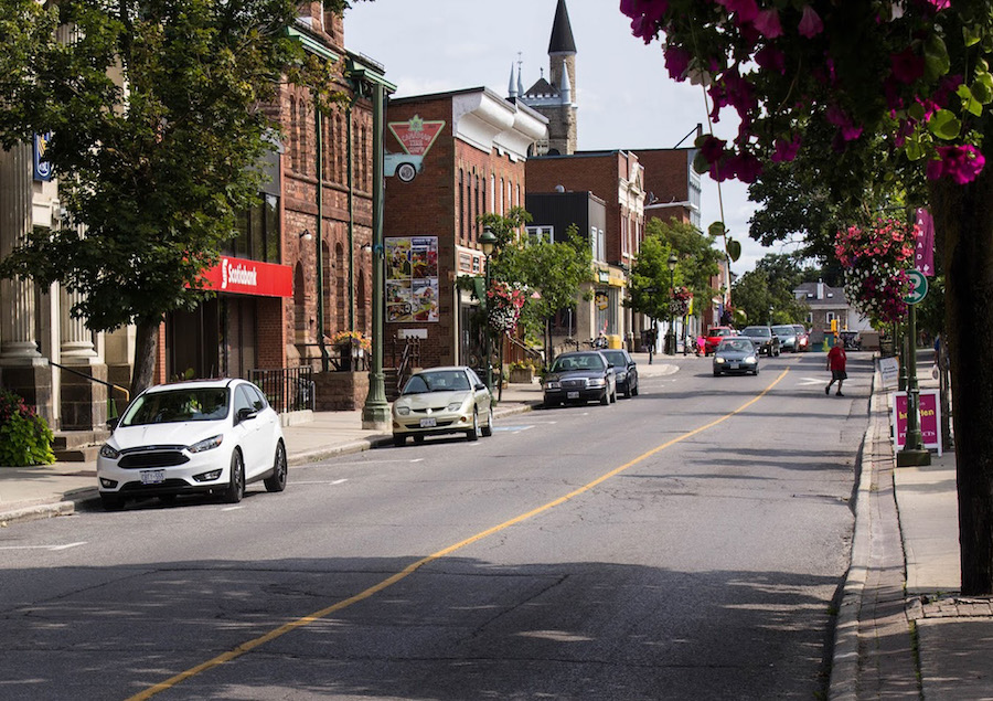 Downtown Carleton Place, Canada.