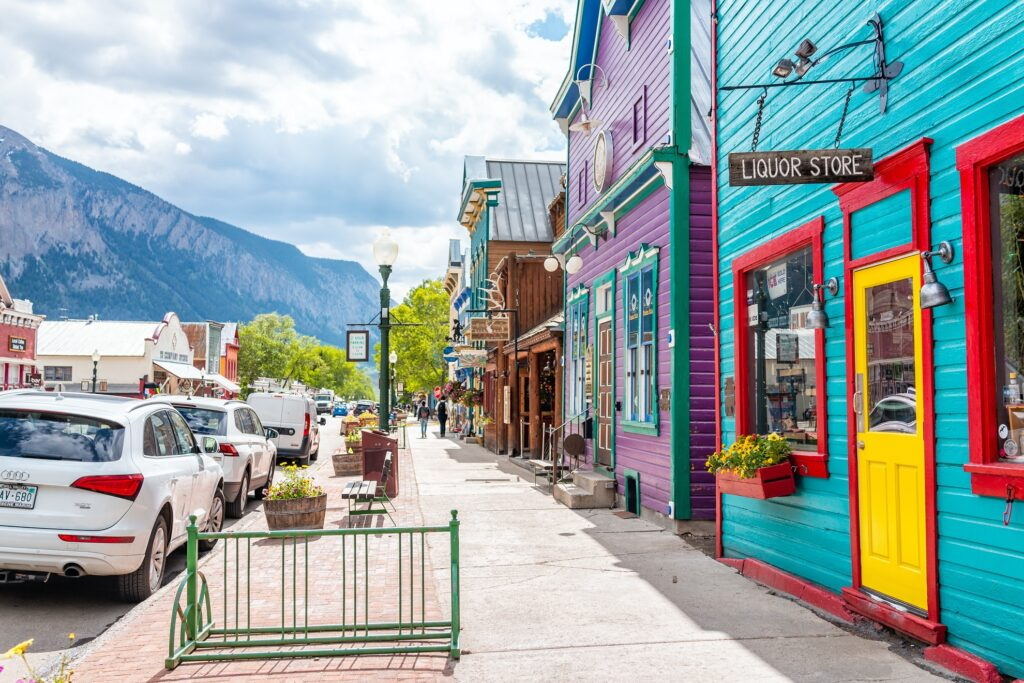 Downtown Crested Butte, Colorado.