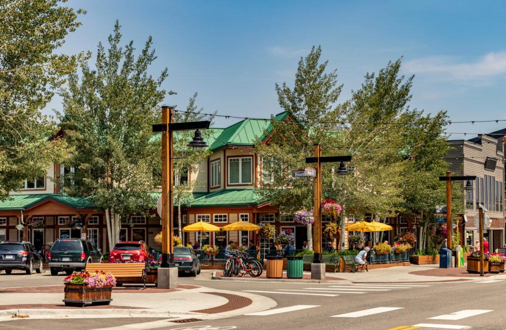 Downtown Frisco, Colorado.