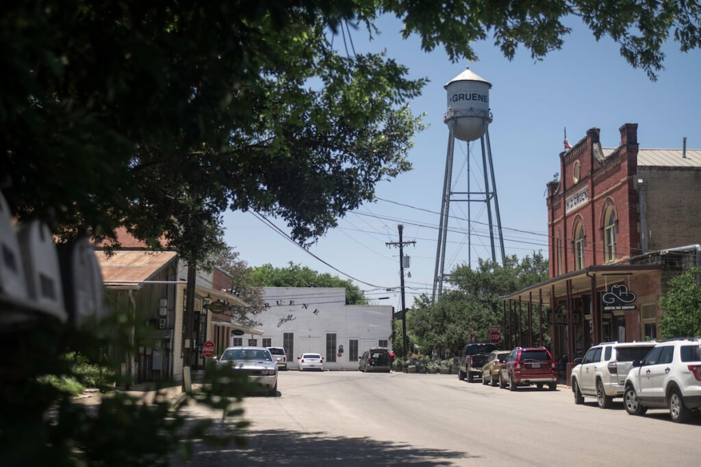 Downtown Gruene, Texas.