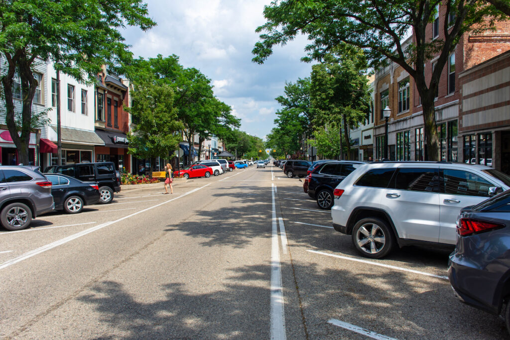 Downtown Holland, Michigan.