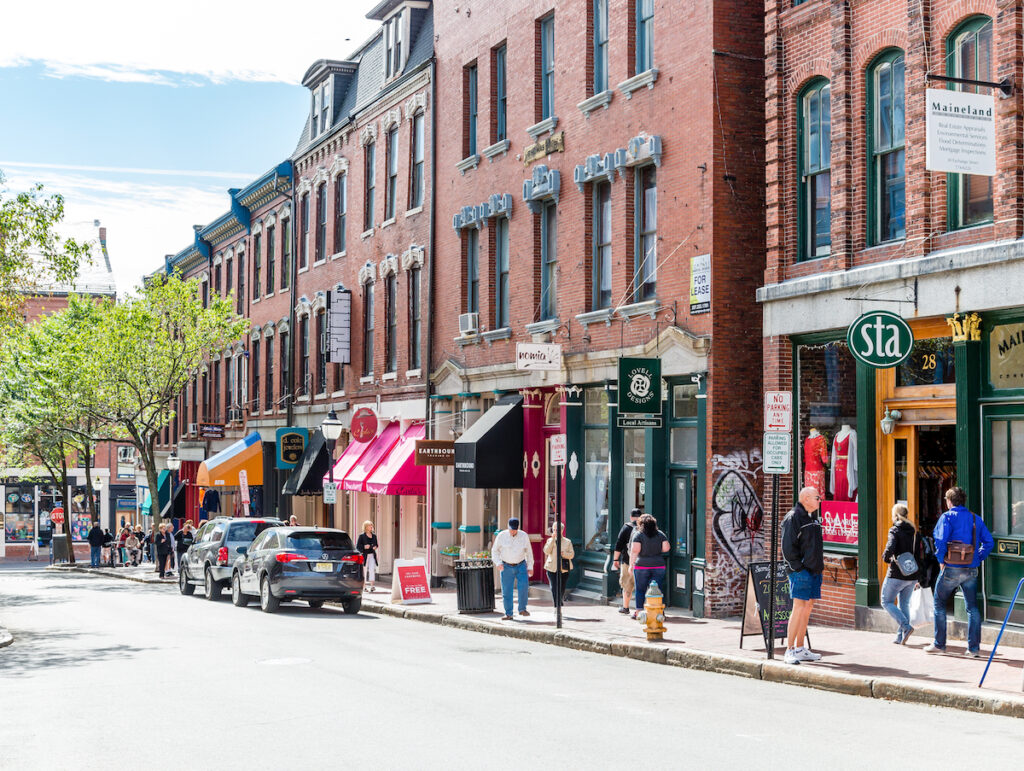 Downtown Portland, Maine