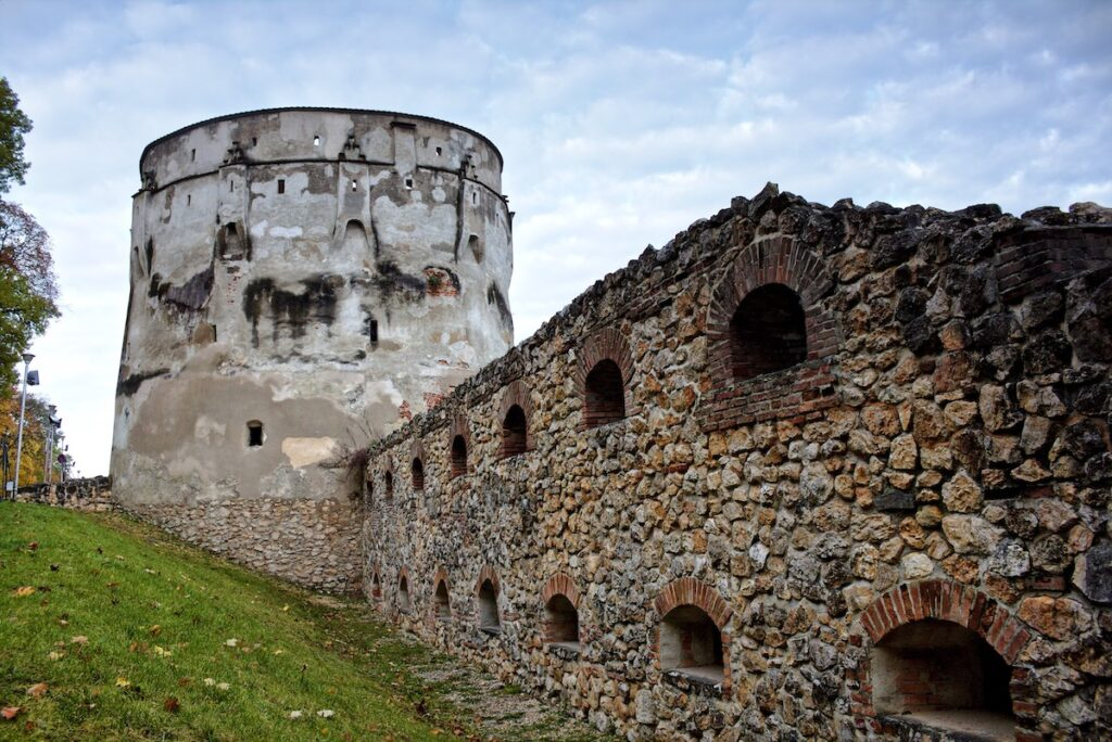 Drapers Bastion in Brasov, Romania.