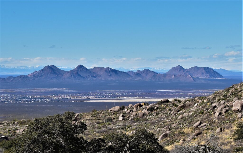 Dripping Springs Natural Area in Las Cruces.