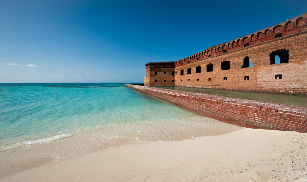 Dry Tortugas National Park in Florida.