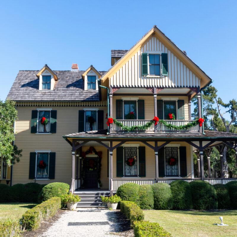 Dubignon Cottage, Jekyll Island, Georgia.
