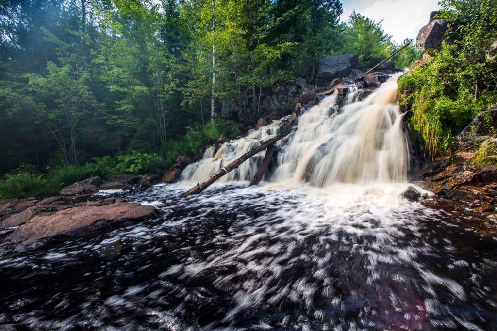 Duchesnay Falls in Ontario, Canada.