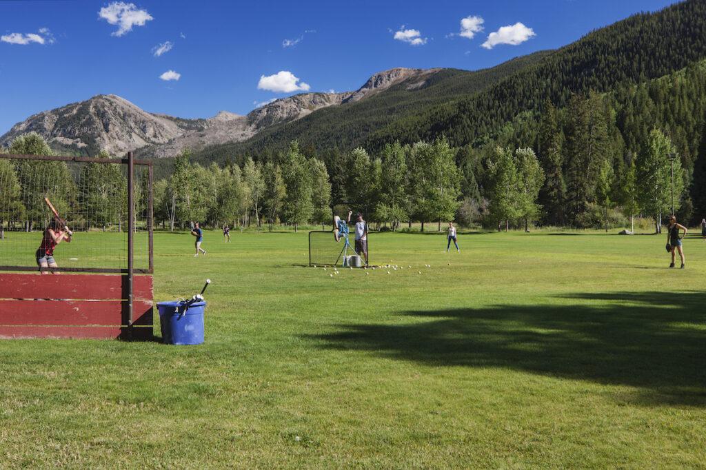 Dunbar Ranch, baseball field.