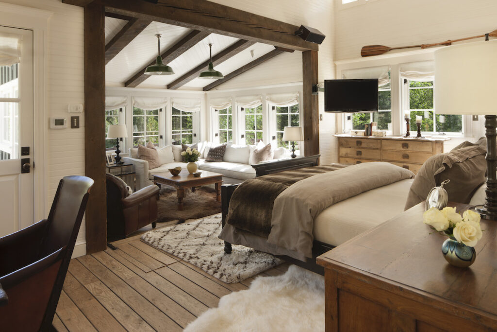 Dunbar Ranch, bedroom view.