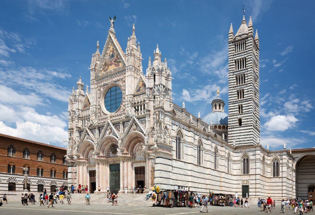 Duomo di Siena in Italy.