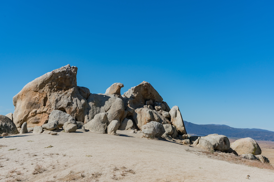 Eagle Rock along the Pacific Crest Trail in California.