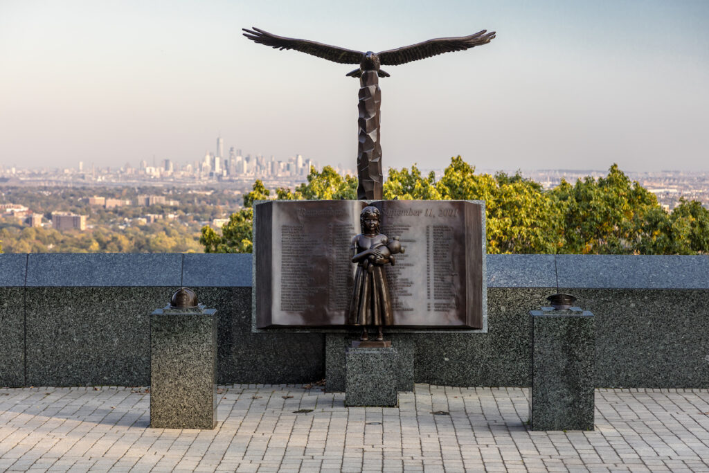 Eagle Rock Reservation in Montclair, New Jersey.