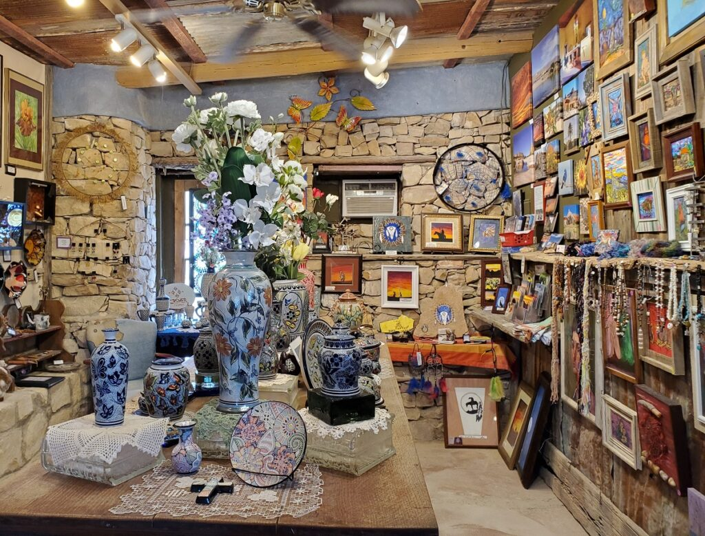 Earth and Fire Gallery, Terlingua, TX.