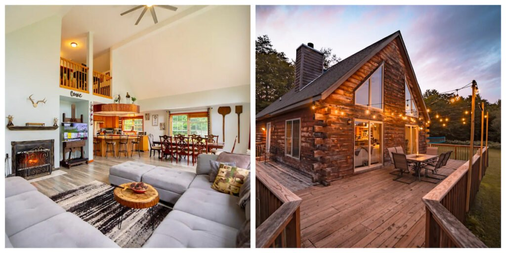 East Coast, a cabin rental in Livingston Manor, New York.