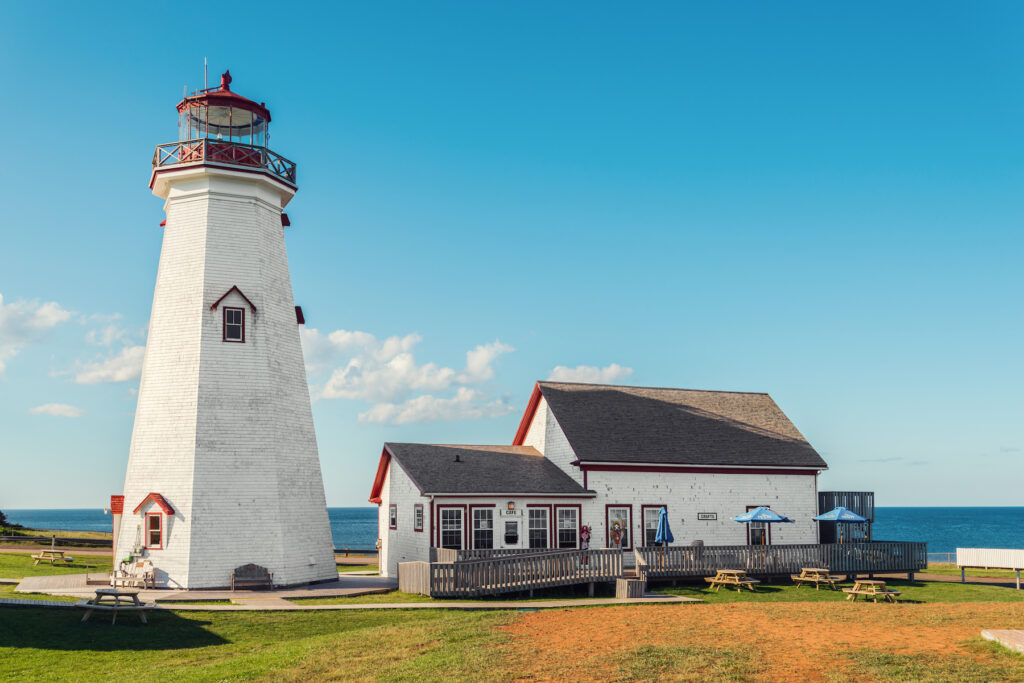 East Point Lighthouse on Prince Edward Island.