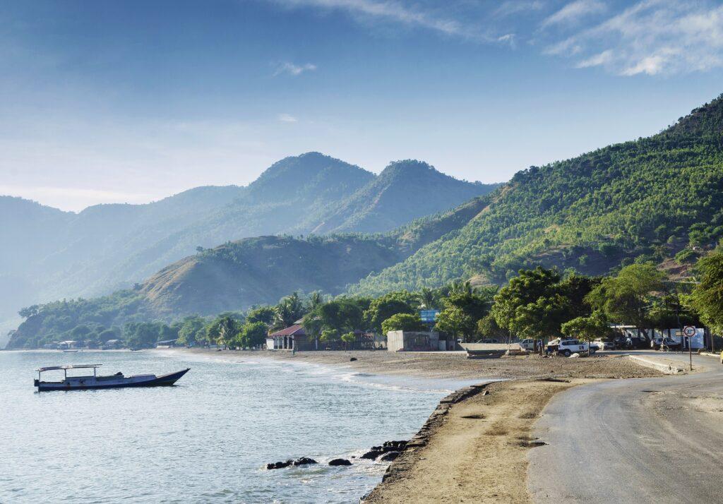 East Timor near Australia.