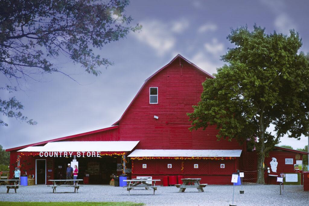Eckert's Family Farm in Grafton, Illinois.