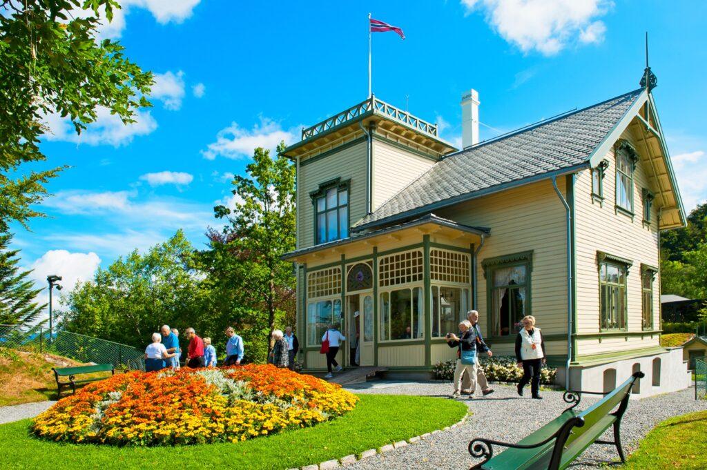 Edvard Grieg's estate, Troldhaugen, in Bergen.