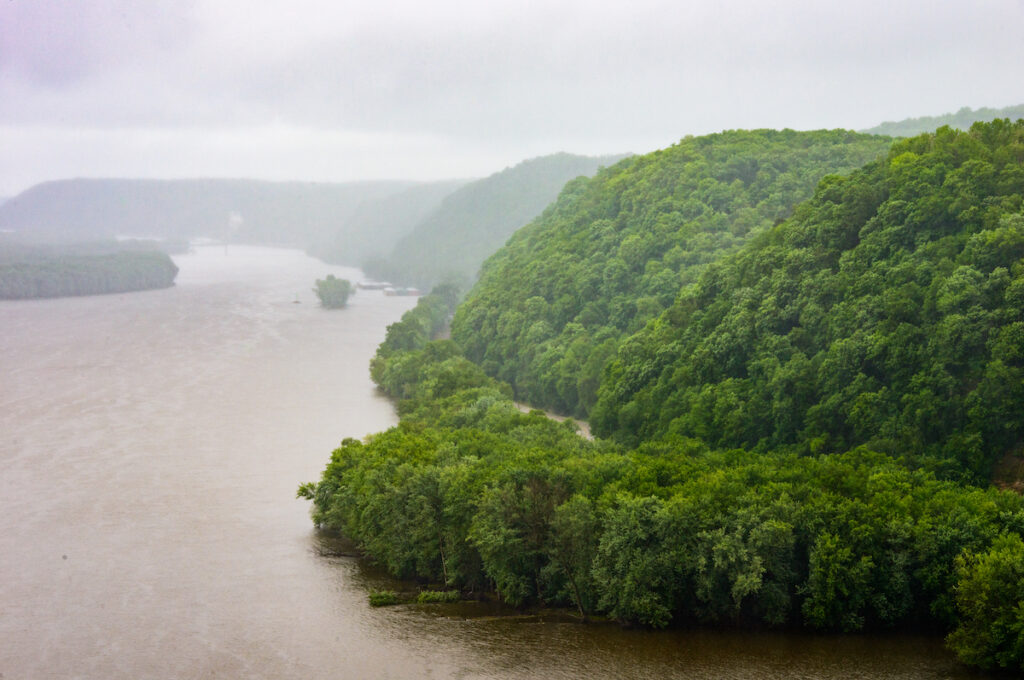 Effigy Mounds National Monument in Iowa.