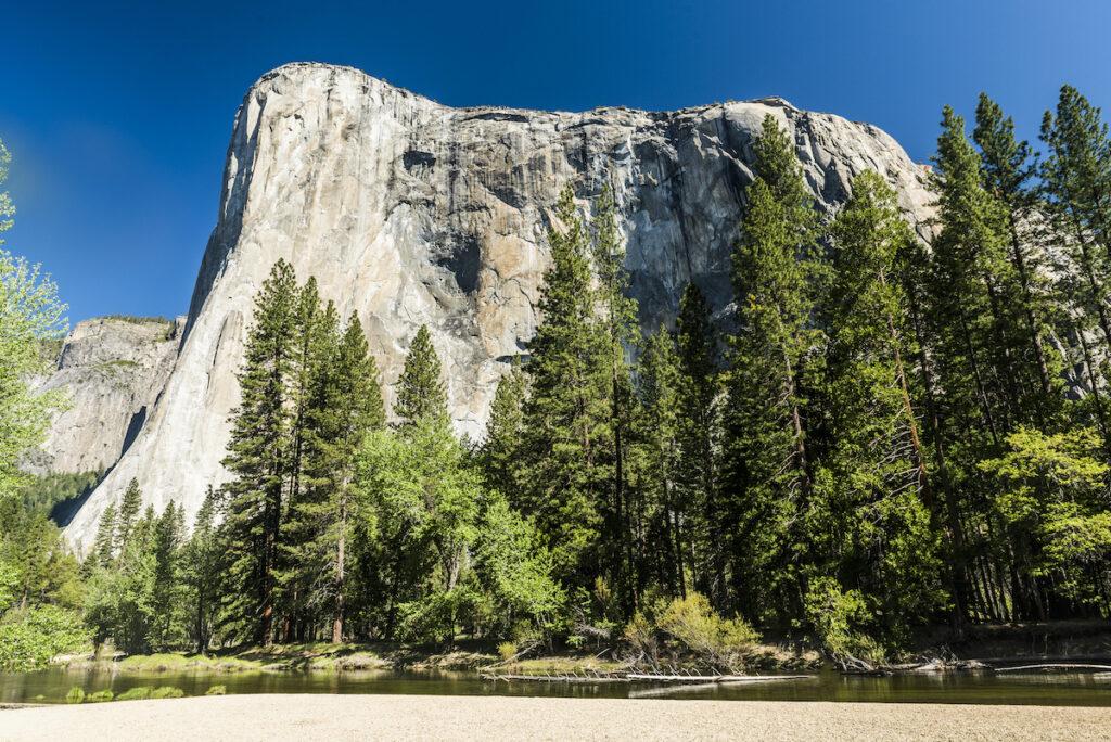 El Capitan in Yosemite National Park.
