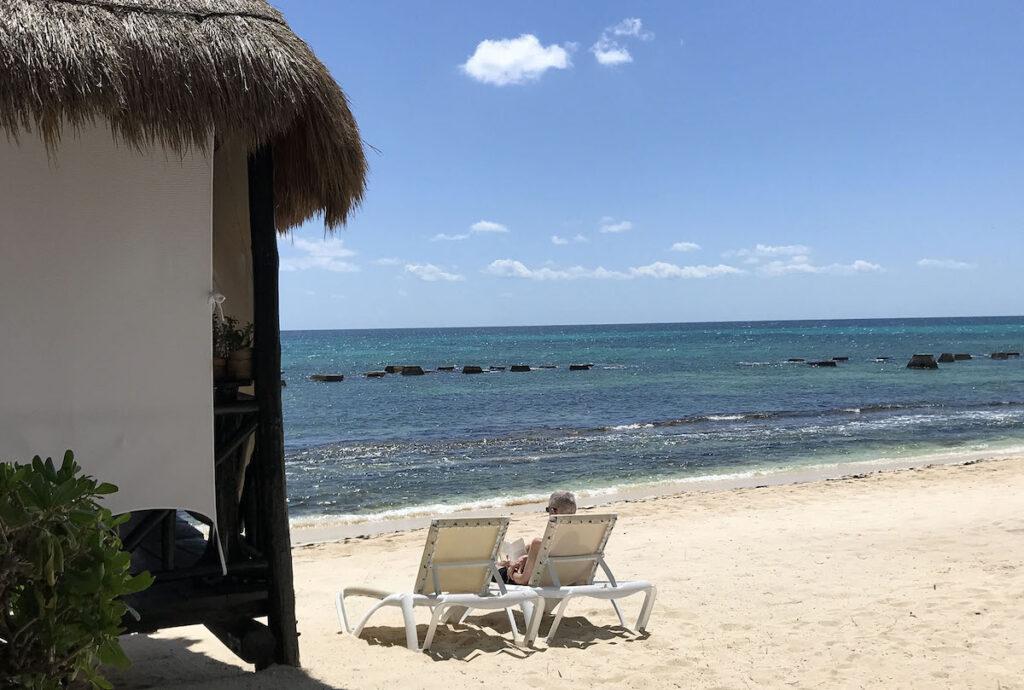 El Dorado Casitas Royale, beachfront.