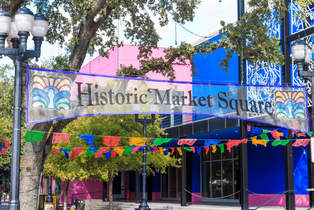 El Mercado in San Antonio, Texas.
