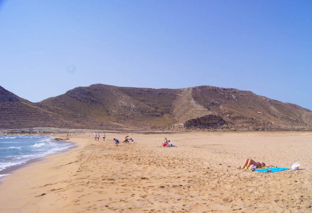 El Playazo Beach in Spain.