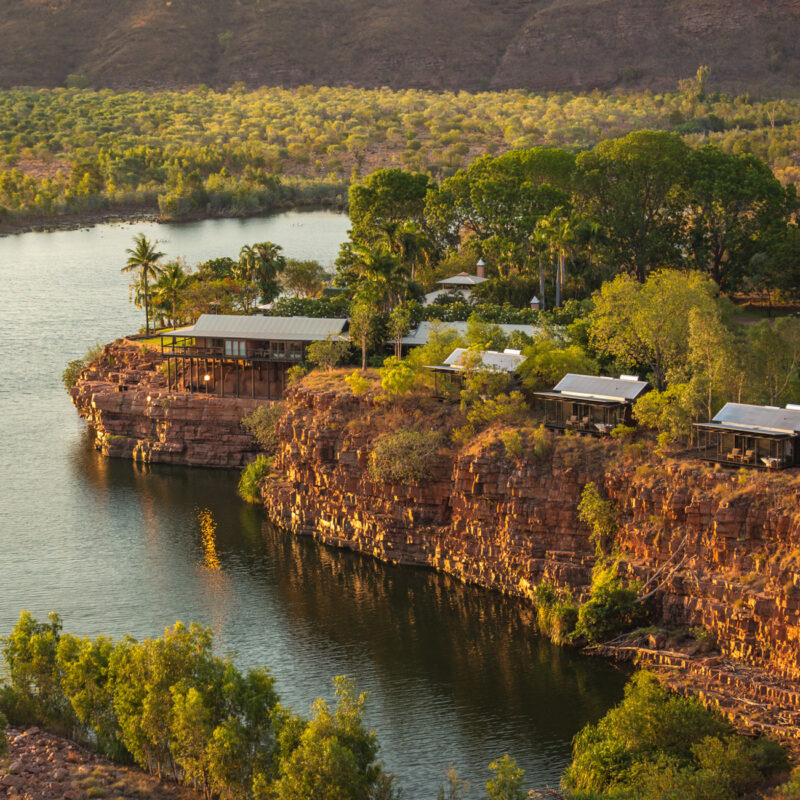 El Questro Homestead in the Kimberley, Western Australia.