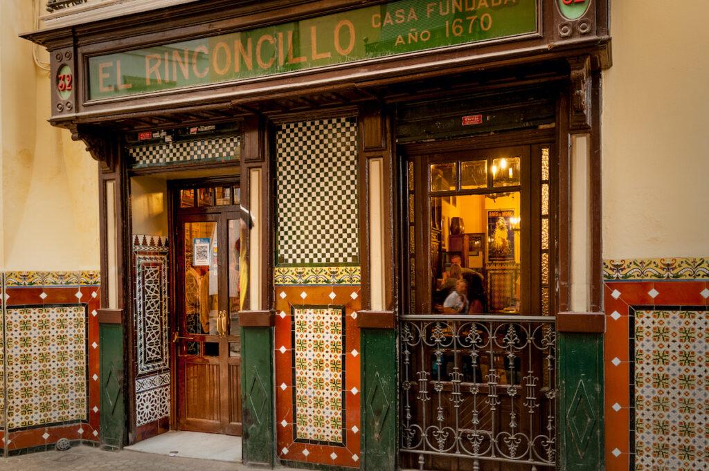 El Rinconcillo in Seville, Spain.