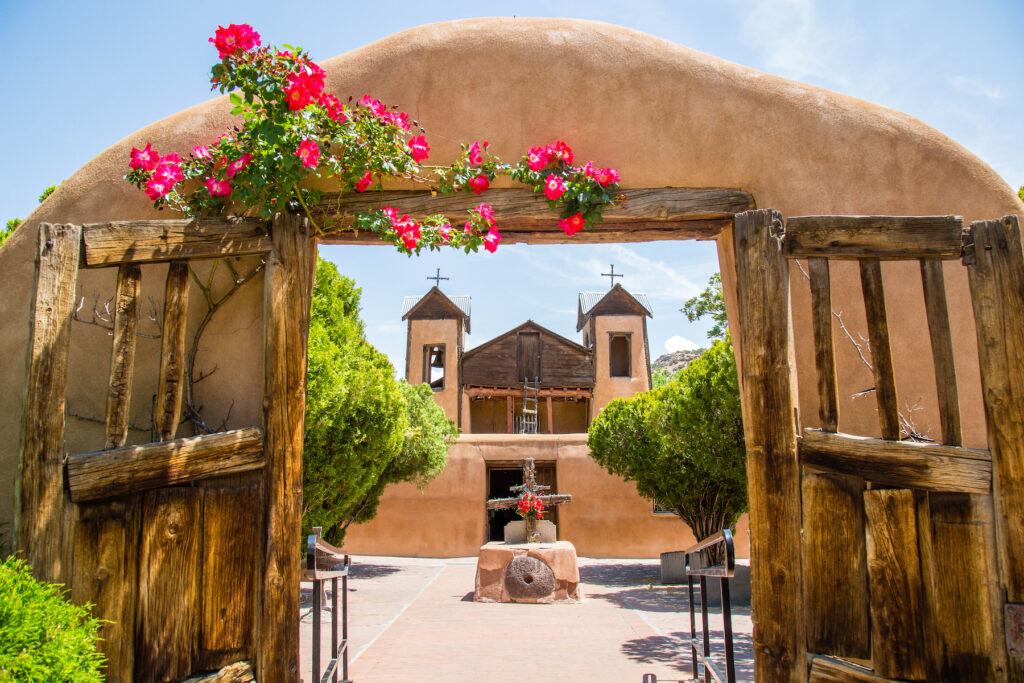 El Santuario de Chimayo in New Mexico.