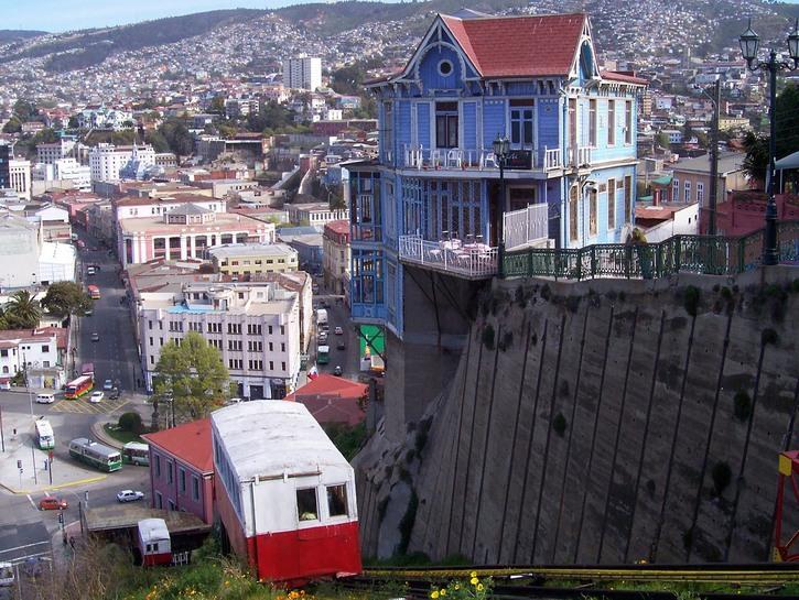 Elevators Of Valparaiso