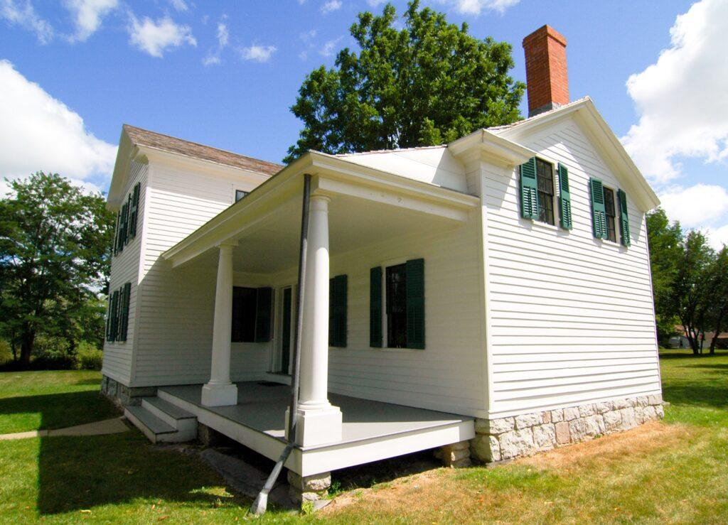 Elizabeth Cady Stanton's house in Seneca Falls.