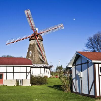 Windmill in Elk Horn, Iowa.