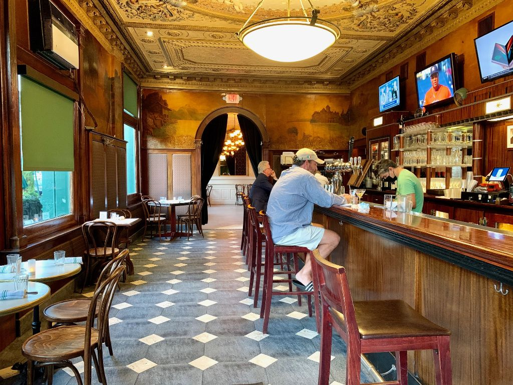 Elysian Cafe in Hoboken.