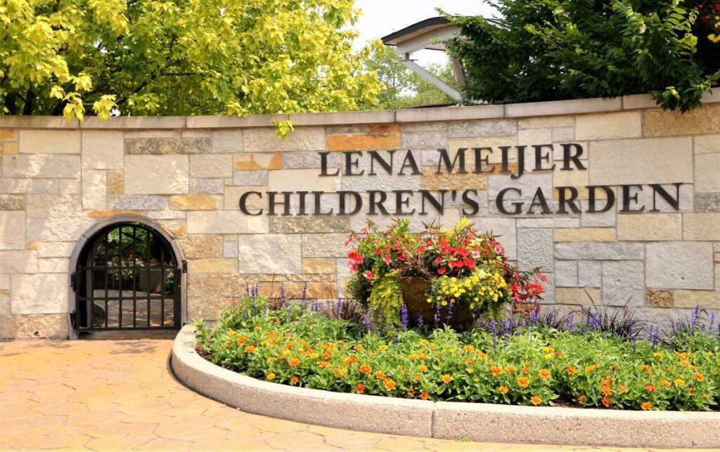 Entrance to the Children's Garden.
