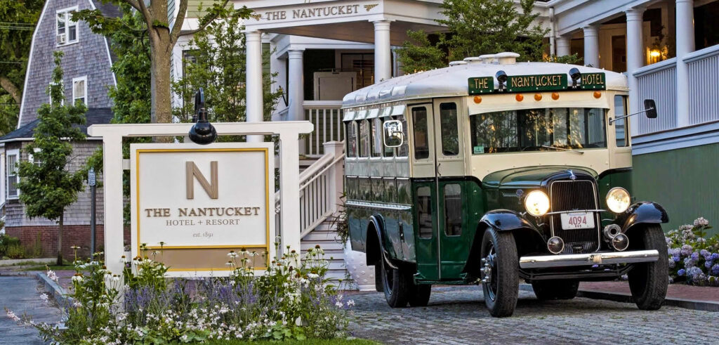 Entrance to The Nantucket Hotel and Resort.