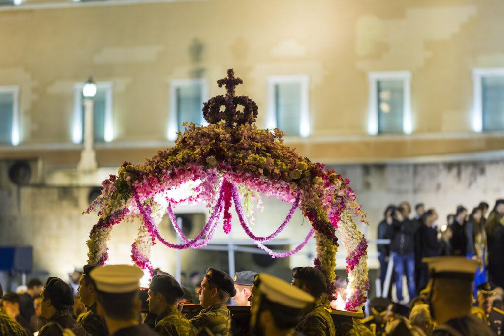 Epitaph, Greek Orthodox Easter.